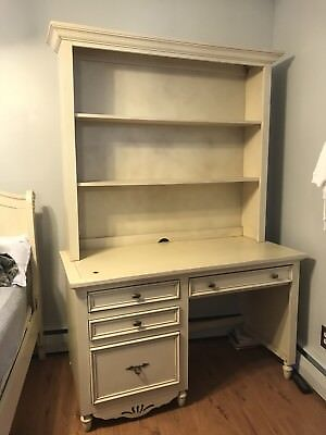 Vintage bookcase desk