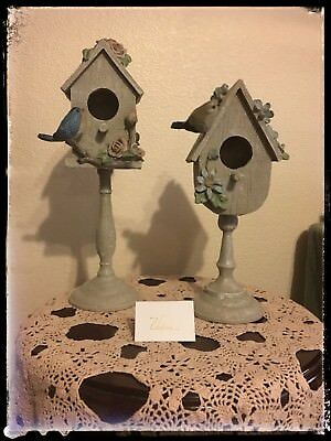 Valerie Parr Hill Home Collection Set Of Two Bird Houses 2017