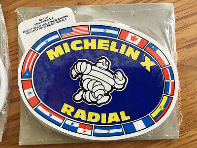 Vintage Michelin Stickers from 70's or 80's