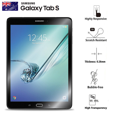 "Tempered Glass Screen Protector SAMSUNG TABLET TAB S2 9.7"" S3 9.7"" S2 8"" / T715"