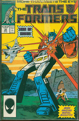 Marvel Comics The Transformers Issue #34