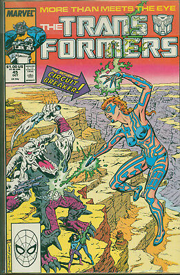 Marvel Comics The Transformers Issue #45