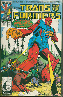 Marvel Comics The Transformers Issue #33