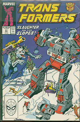 Marvel Comics The Transformers Issue #51