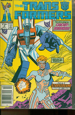 Marvel Comics The Transformers Issue #9