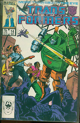 Marvel Comics The Transformers Issue #14