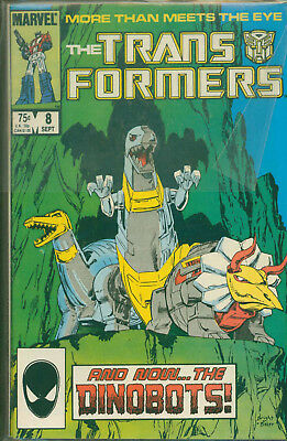 Marvel Comics The Transformers Issue #8