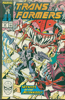 Marvel Comics The Transformers Issue #52
