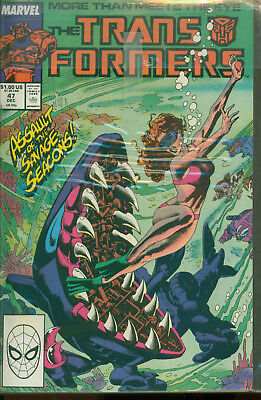 Marvel Comics The Transformers Issue #47