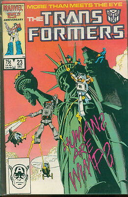 Marvel Comics The Transformers Issue #23