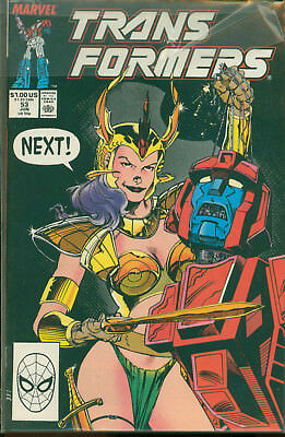 Marvel Comics The Transformers Issue #53