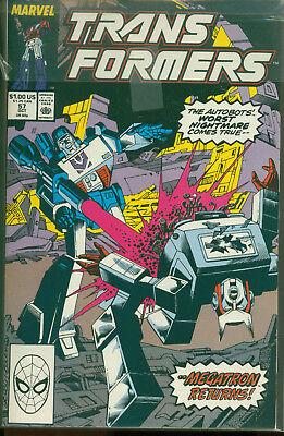 Marvel Comics The Transformers Issue #57