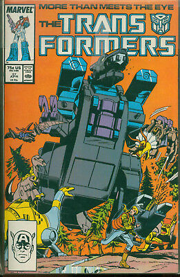 Marvel Comics The Transformers Issue #27