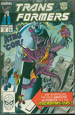 Marvel Comics The Transformers Issue #54