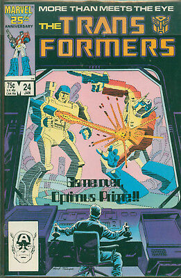 Marvel Comics The Transformers Issue #24