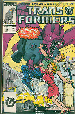 Marvel Comics The Transformers Issue #31