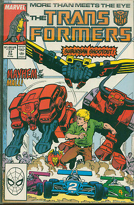 Marvel Comics The Transformers Issue #37