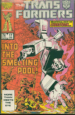 Marvel Comics The Transformers Issue #17