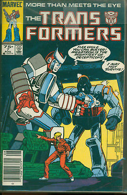 Marvel Comics The Transformers Issue #7