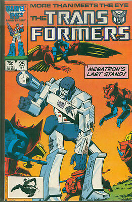 Marvel Comics The Transformers Issue #25