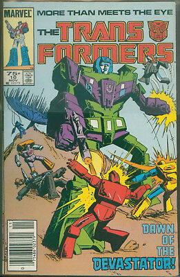 Marvel Comics The Transformers Issue #10