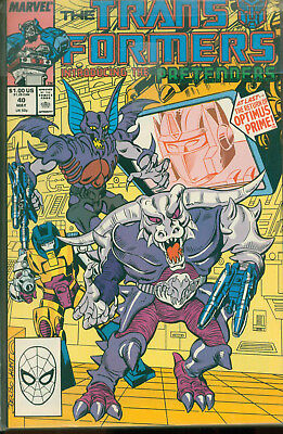 Marvel Comics The Transformers Issue #40