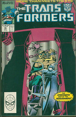 Marvel Comics The Transformers Issue #46