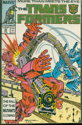 Marvel Comics The Transformers Issue #35