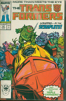 Marvel Comics The Transformers Issue #29