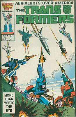 Marvel Comics The Transformers Issue #21