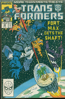 Marvel Comics The Transformers Issue #39