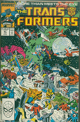 Marvel Comics The Transformers Issue #41