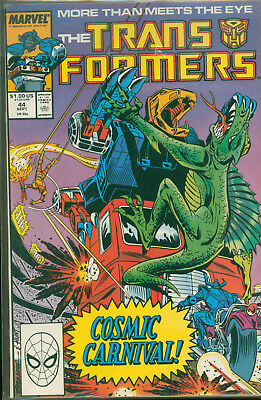 Marvel Comics The Transformers Issue #44