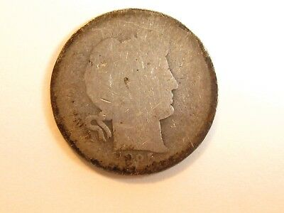 1895 ? Barber Dime - #3514 - Might be O New Orleans Issue