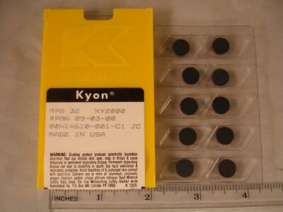 RPG 32 KY2000 KENNAMETAL Ceramic  Inserts (10pcs) New&Original