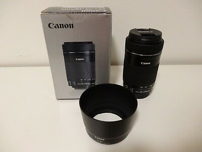 canon ef s 55 250 mm f 4 0 5 6 is stm objektiv kaum genutzt eur 84 00 picclick de. Black Bedroom Furniture Sets. Home Design Ideas