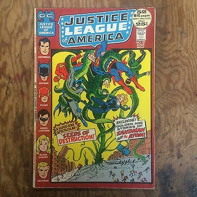 LOT OF 4 GIANT JUSTICE LEAGUE OF AMERICA COMICS 93,95,96 and 99 MAKE OFFER !!