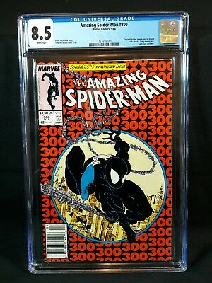 Amazing Spider-Man #300 CGC 8.5 Newsstand