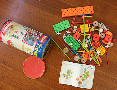 Tinkertoy By Playskool 1986 Construction Toy Set
