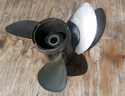 Ss 85Hp -100Hp -115Hp -130Hp V4 Evinrude Johnson Propeller Stainless Steel Omc