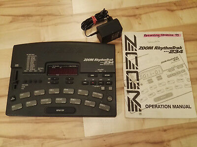 ZOOM, Rhythm Trak 234, Drum Computer, Super Sounds!! KULT, mit Anleitung!