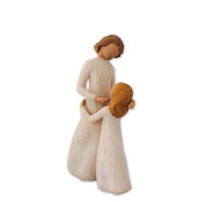 Willow Tree Figure Hand Made Hand Painted Mum Mother Daughter Mom Gift Idea NEW