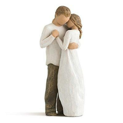 Willow Tree Figure Couple Hug Promise Gift Ideas Hand Made Hand Painted NEW UK