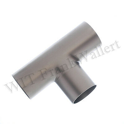 Stainless Steel T-Piece DIN 11852 1.4301 Matte Various Sizes 28mm 29mm etc