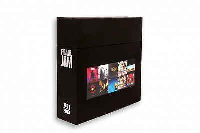 Pearl Jam - 1991-2013 complete 10-LP-Box in orig. package, ltd. to 500, with coa