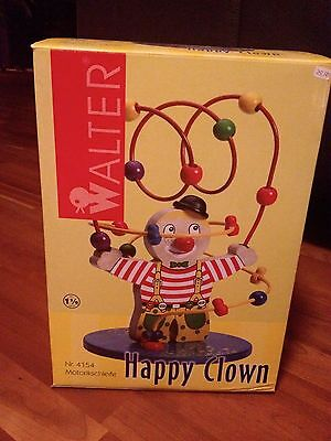 **NEU** Motorik-Schleife ** Happy Clown ** Walter ** Nagelneu **