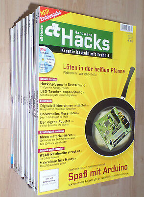 Ct Make, Hacks, Hardware Hacks, c'T 2013 bis 2017 22 Hefte