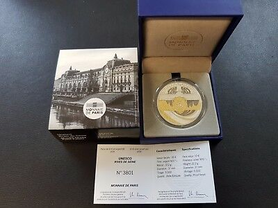 2016 MUSEE ORSAY PETIT PALAIS France 10 Euro Silber Argent PP PROOF OVP 5.000 Ex