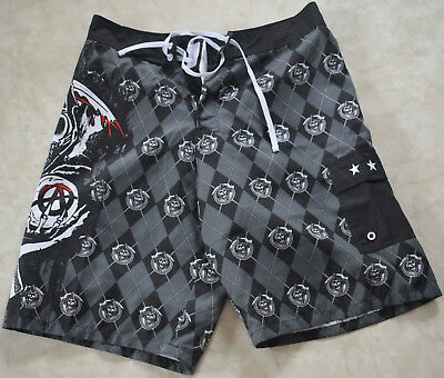 Sons Of Anarchy Badehose Boardshorts mit Tasche USA Import SOA
