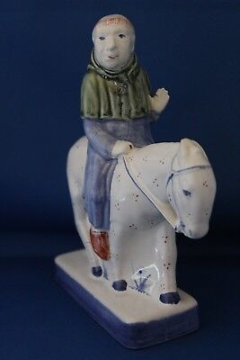 Fantastic Rye Pottery Canterbury Tales Figure The Friar